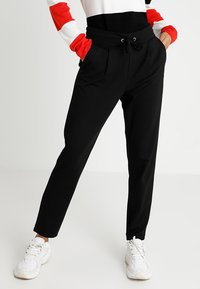 JDY - JDYPRETTY PANT JRS  - Tracksuit bottoms - black - 0