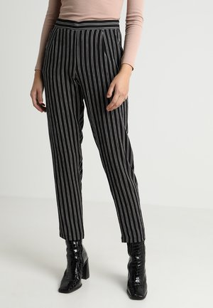 JDYHERO PANT - Broek - black/cloud dancer
