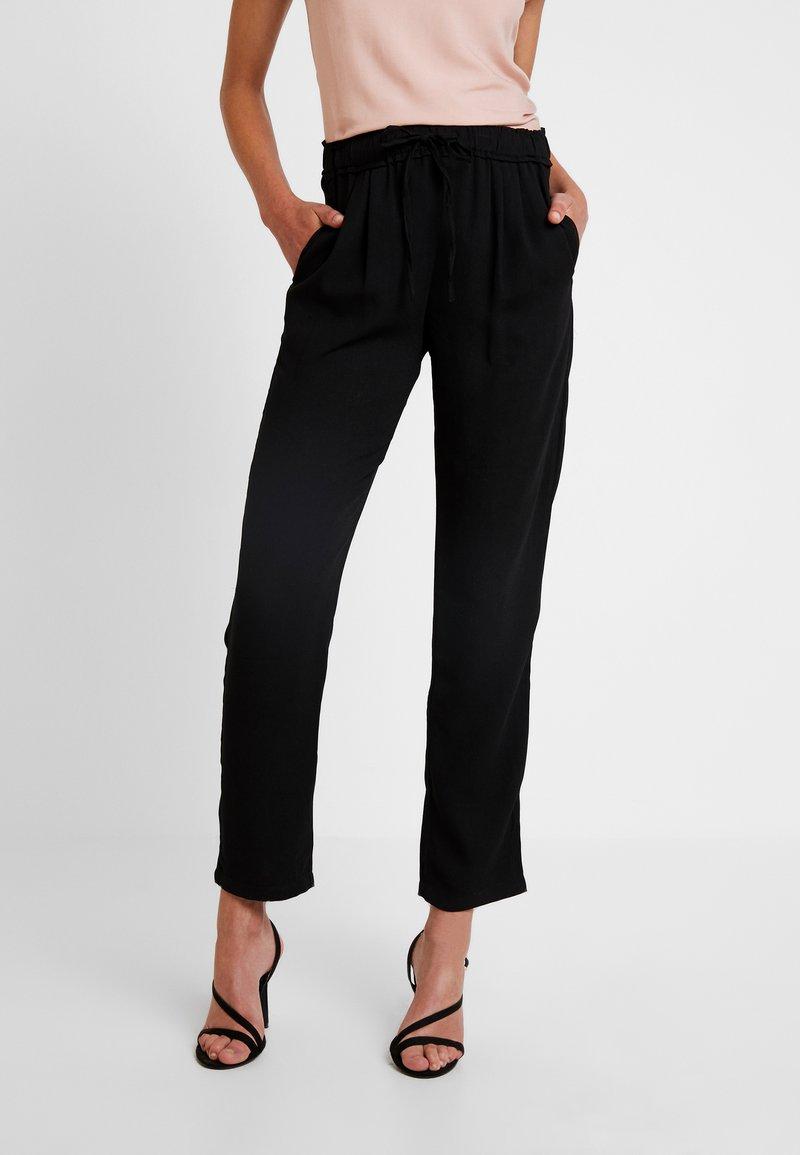 JDY - JDYNOBEL PANT - Trousers - black