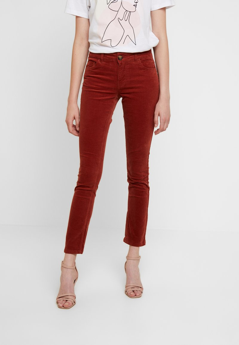 JDY - Trousers - light red