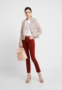 JDY - Trousers - light red - 2