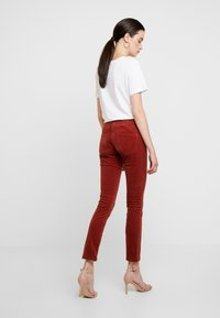 JDY - Trousers - light red - 3