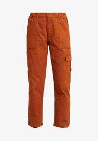 JDY - JDYCALLIE WORKER - Trousers - sugar almond - 4