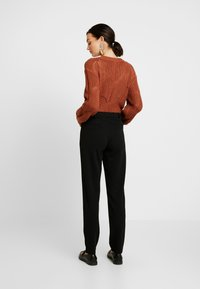 JDY - JDYCARMA TREATS PANT - Trousers - black - 2