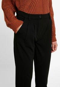 JDY - JDYCARMA TREATS PANT - Trousers - black - 4