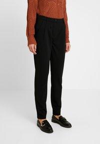 JDY - JDYCARMA TREATS PANT - Trousers - black - 0