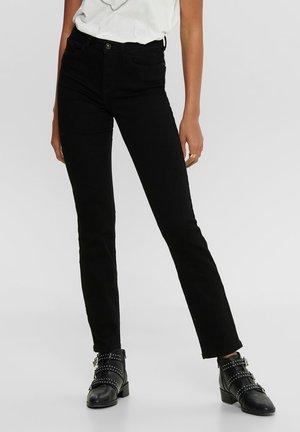 JDYNOVA - Straight leg jeans - black