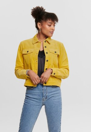 JDYKIRAZ JACKET  - Chaqueta fina - misted yellow