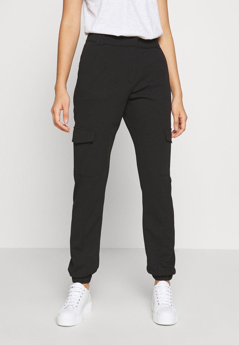 JDY - JDYLUCILLE PANT  - Trousers - black