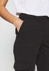 JDY - JDYLUCILLE PANT  - Trousers - black - 4