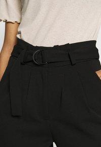 JDY - JDYTANJA CATIA RING PANT  - Pantalon classique - black - 4