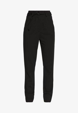 JDYTANJA CATIA RING PANT  - Trousers - black