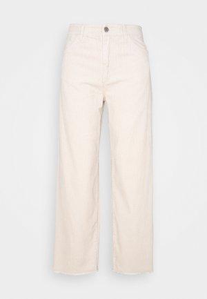 JDYKIRA LIFE HIGH WIDE PANT - Bukse - beige