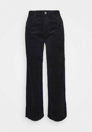 JDYKIRA LIFE HIGH WIDE PANT - Bukse - black