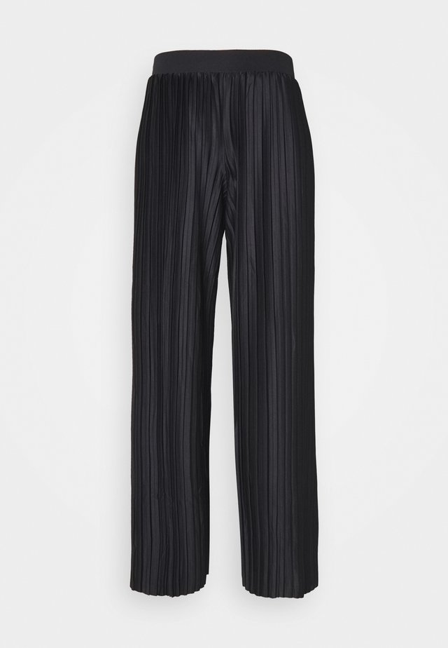 JDYGAYEL PLEATED PANT - Stoffhose - black