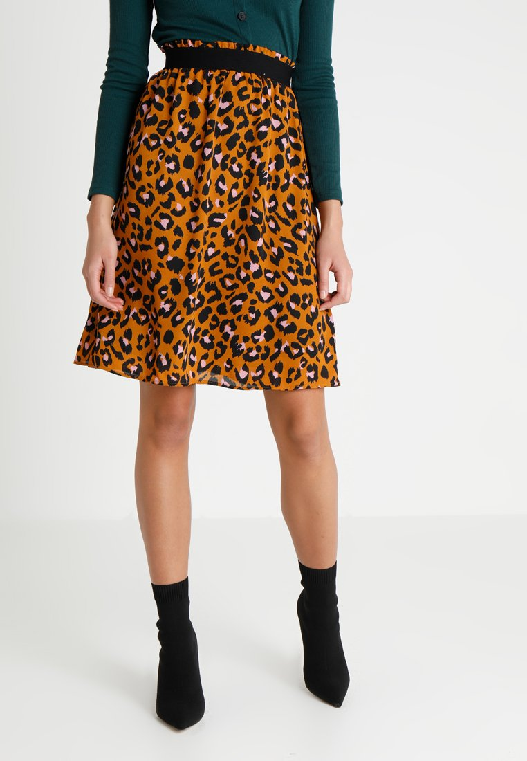 JDY - JDYBASE MILO SKIRT - A-line skirt - golden brown