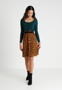 JDY - JDYBASE MILO SKIRT - A-line skirt - golden brown - 1