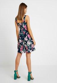 JDY - JDYSTAR - Denní šaty - navy blazer/pink - 2