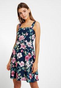 JDY - JDYSTAR - Denní šaty - navy blazer/pink - 0