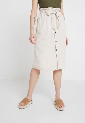 JDYSIERRA  - A-line skirt - sandshell