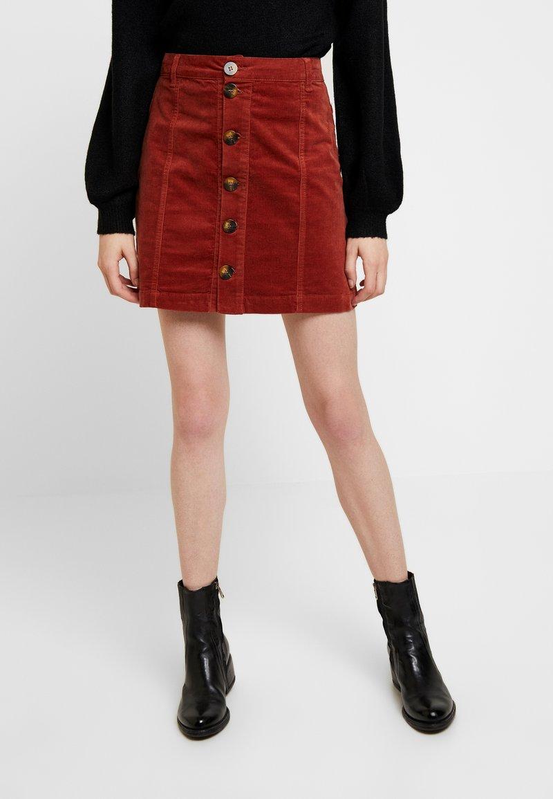 JDY - JDYERA - Mini skirt - dark red