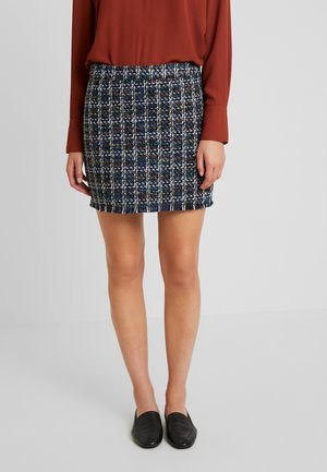JDYNOISE SHORT SKIRT - Minijupe - sky captain