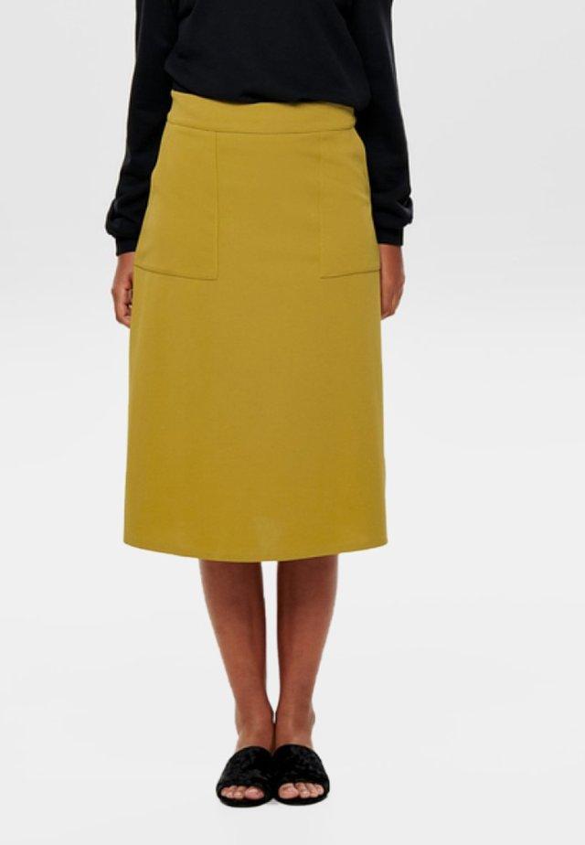 A-snit nederdel/ A-formede nederdele - harvest gold