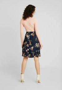 JDY - A-line skirt - navy blazer - 2