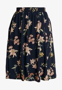 JDY - A-line skirt - navy blazer - 3