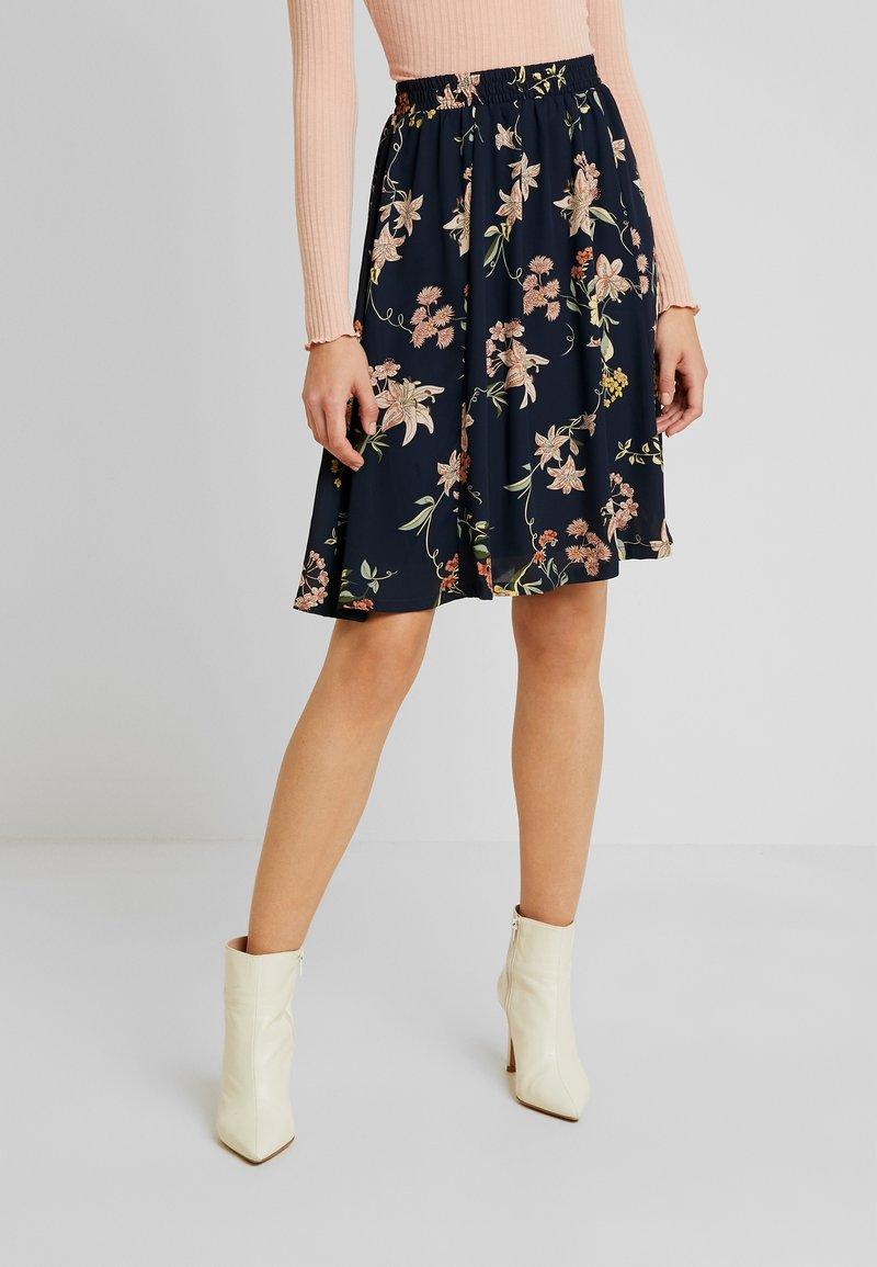 JDY - A-line skirt - navy blazer