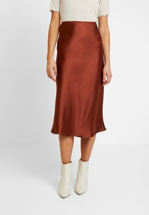 JDYPERFECT MIDI SKIRT - Pencil skirt - cinnamon