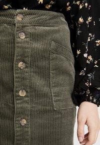 JDY - A-snit nederdel/ A-formede nederdele - grape leaf - 4