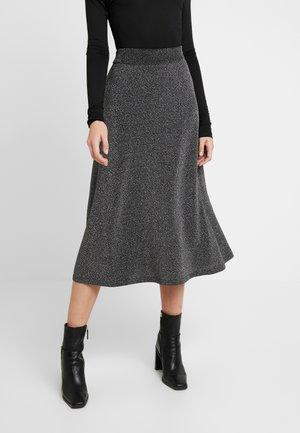 Falda larga - silver
