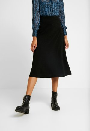 Falda larga - black
