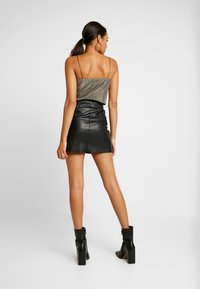 JDY - Minifalda - black - 2