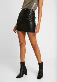 JDY - Minifalda - black - 0