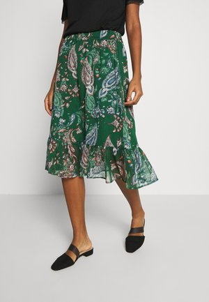 JDYRUFUS  - A-line skirt - green gables