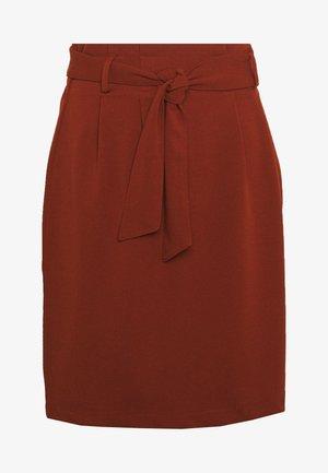 JDYTANJA PLEATED SKIRT - A-line skirt - smoked