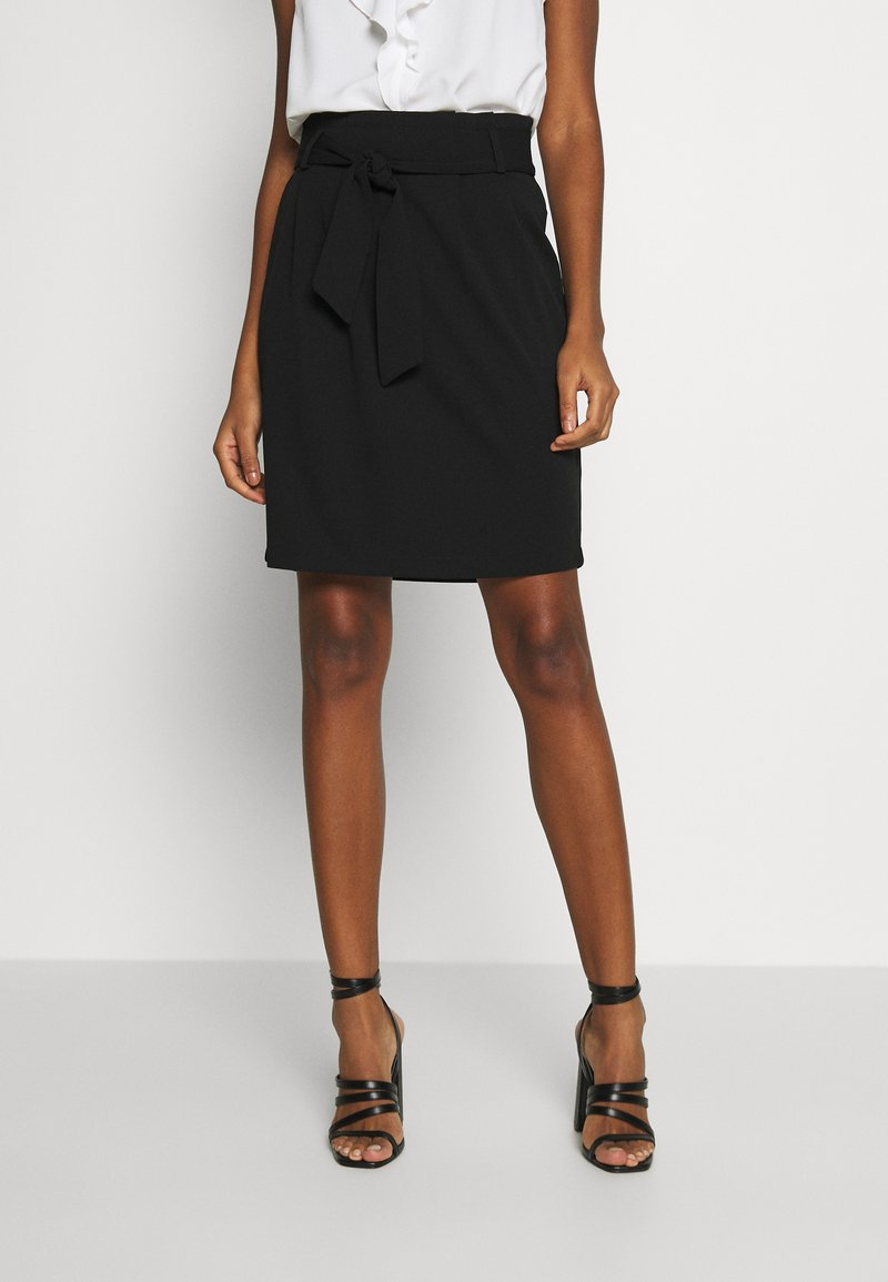 JDY - JDYTANJA PLEATED SKIRT - A-line skirt - black