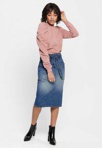 JDY - Denim skirt - medium blue denim - 1