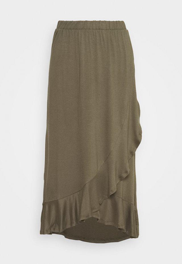JDYFANTORINI WRAP SKIRT - A-snit nederdel/ A-formede nederdele - kalamata