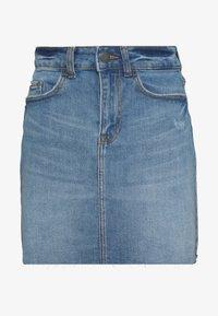 JDY - JDYKARL LIFE SHORT SKIRT - Denimová sukně - light blue denim - 0