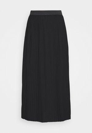 JDYHELEN PLISSE SKIRT - Áčková sukně - black