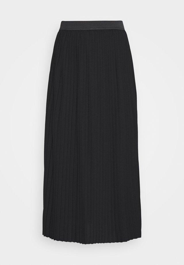 JDYHELEN PLISSE SKIRT - A-line skirt - black
