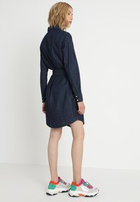 JDY - JDYESRA SHIRT DRESS  - Dongerikjole - dark blue denim - 3