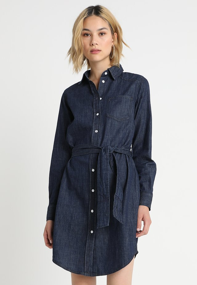 JDYESRA SHIRT DRESS  - Spijkerjurk - dark blue denim