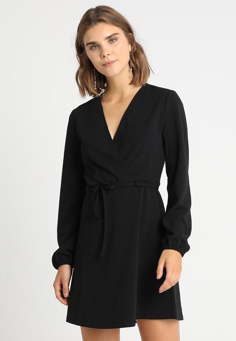 JDY - JDYLAUREN BELT DRESS - Sukienka letnia - black