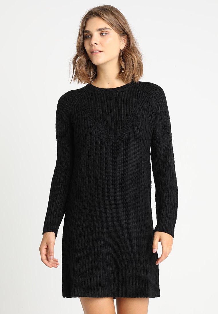 JDY - JUSTY - Strikket kjole - black