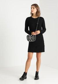 JDY - JUSTY - Strikket kjole - black - 1