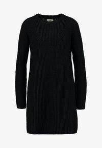 JDY - JUSTY - Strikket kjole - black - 4